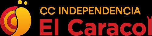 Logotipo horizontal Centro Comercial Independencia El Caracol, Zaragoza