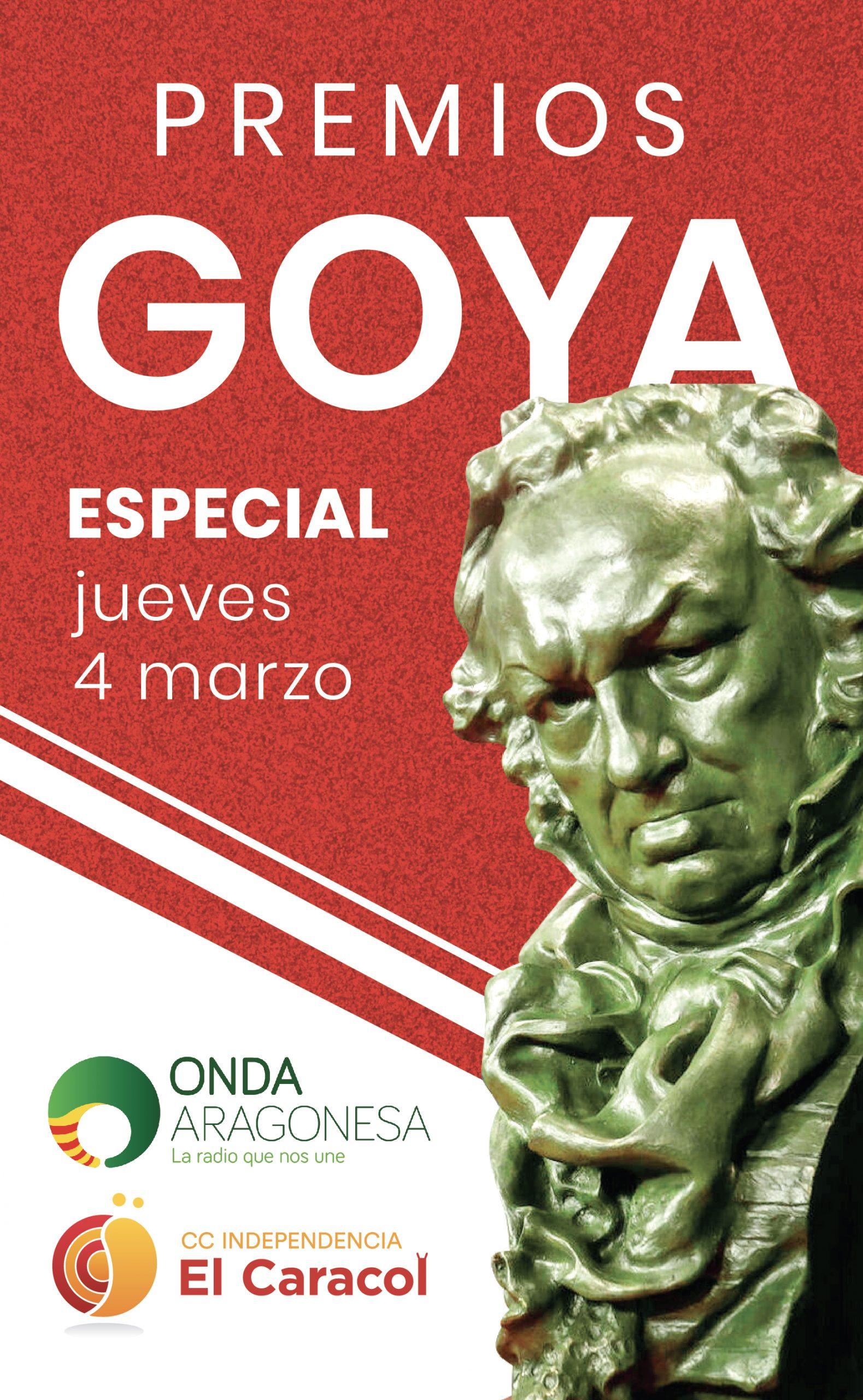 Ven a 'ganar' un auténtico Goya