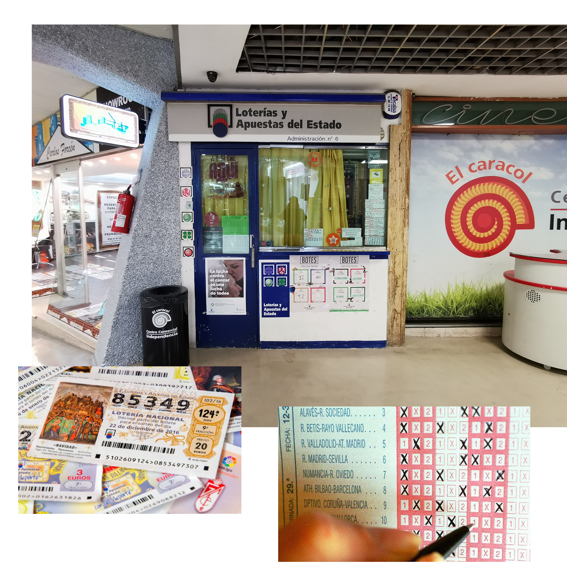 Administracion Lotería Nº6 – Centro Independencia Caracol