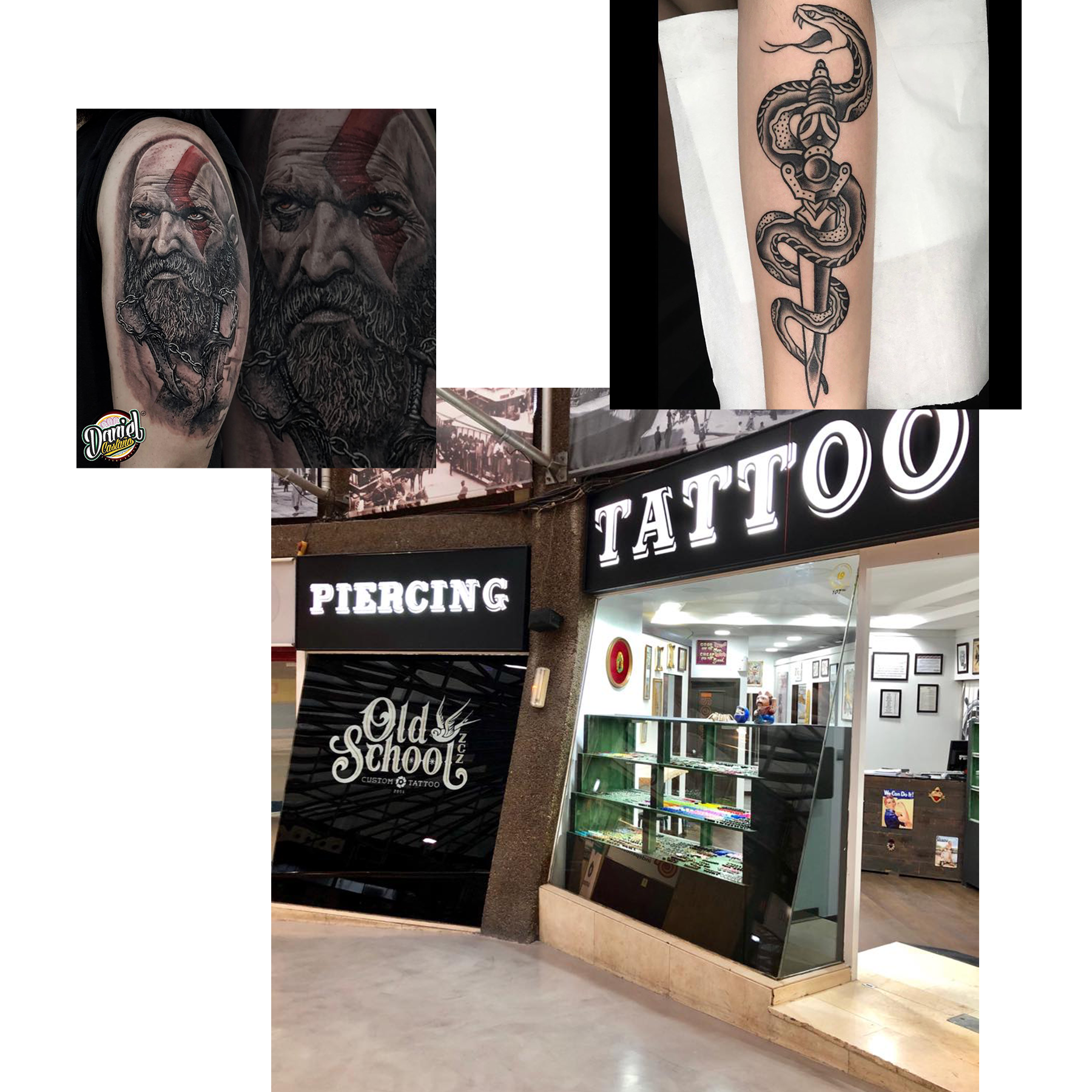 Old School Tattoo – Centro Independencia Caracol